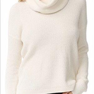 NWOT Madewell Ivory Turtleneck Sweater. Size S